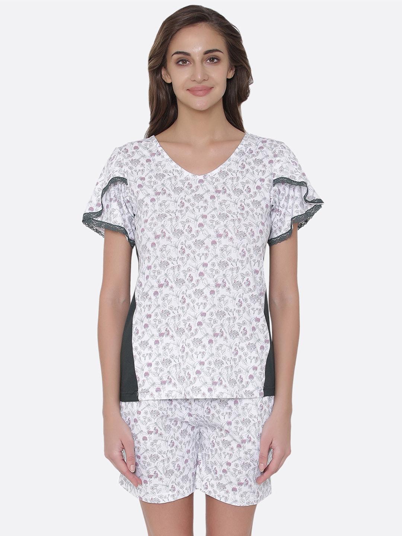 8400638b4fb Clovia Printed Loungewear And Nightwear - Buy Clovia Printed Loungewear And Nightwear  online in India