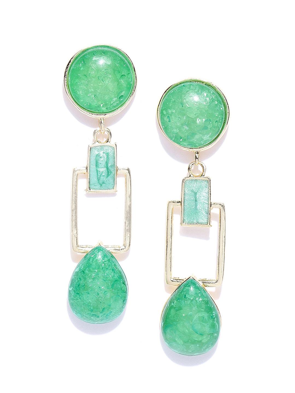 346c7b895 Green Earrings - Buy Green Earrings Online in India