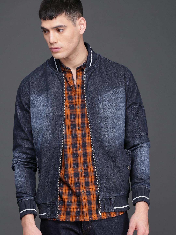 c9172916cb5 Denim Jacket - Buy Denim Jacket Online - Myntra
