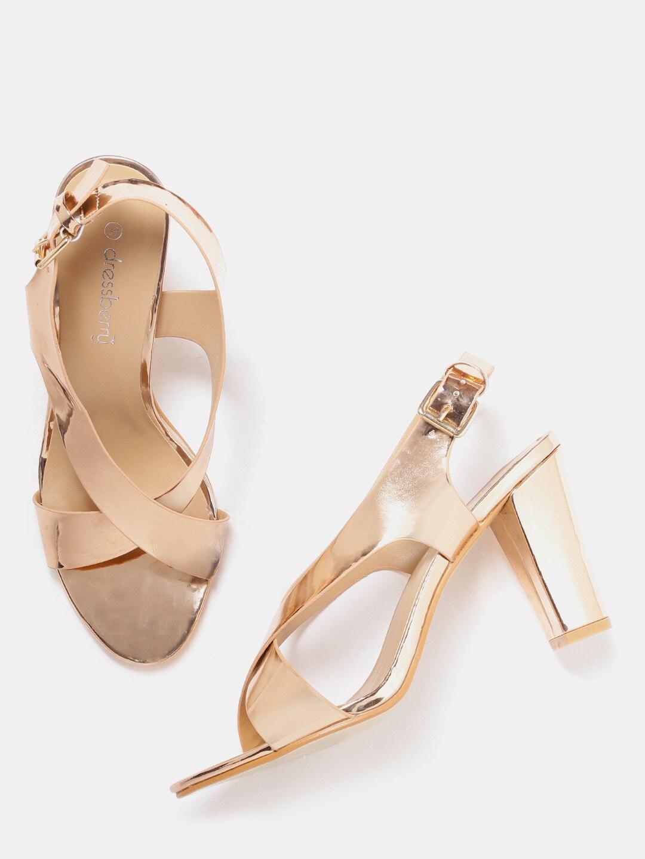 b4e1c12eef5 Gold Heels