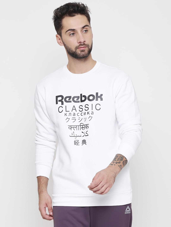 7a7ea692 Men Reebok Classic Sweatshirts - Buy Men Reebok Classic Sweatshirts online  in India