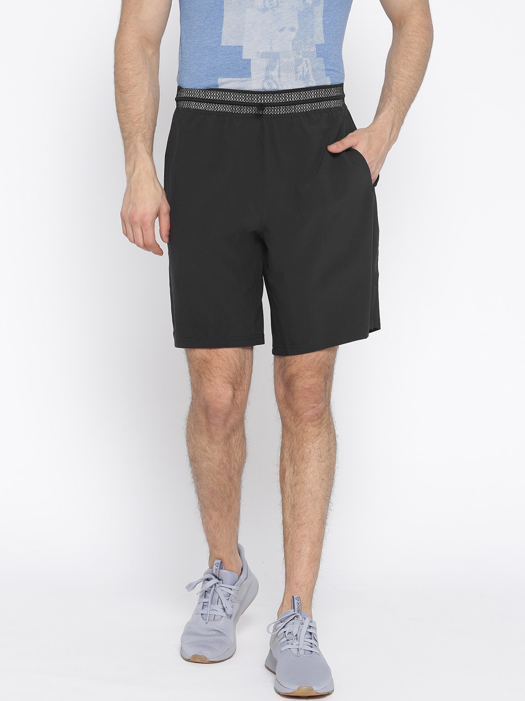 Reebok Woven Shorts - Buy Reebok Woven Shorts online in India 6cebc5c8d