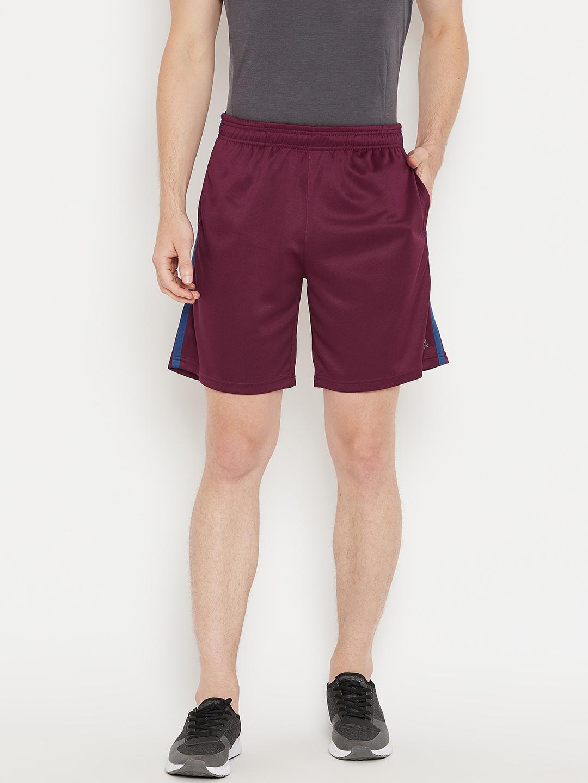 b9d6368b82c8 Burgundy Shorts - Buy Burgundy Shorts online in India
