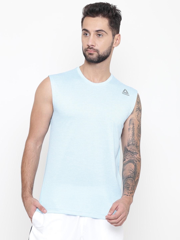 2feceed567a75f Reebok Sleeveless Tshirts - Buy Reebok Sleeveless Tshirts Online in India