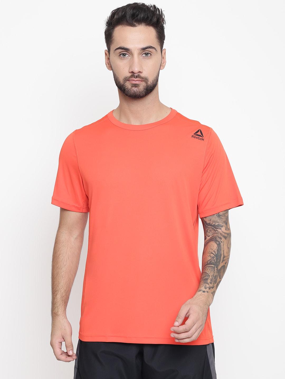 ae367b59e0 Reebok Men Orange US Workout Tech Training T-shirt
