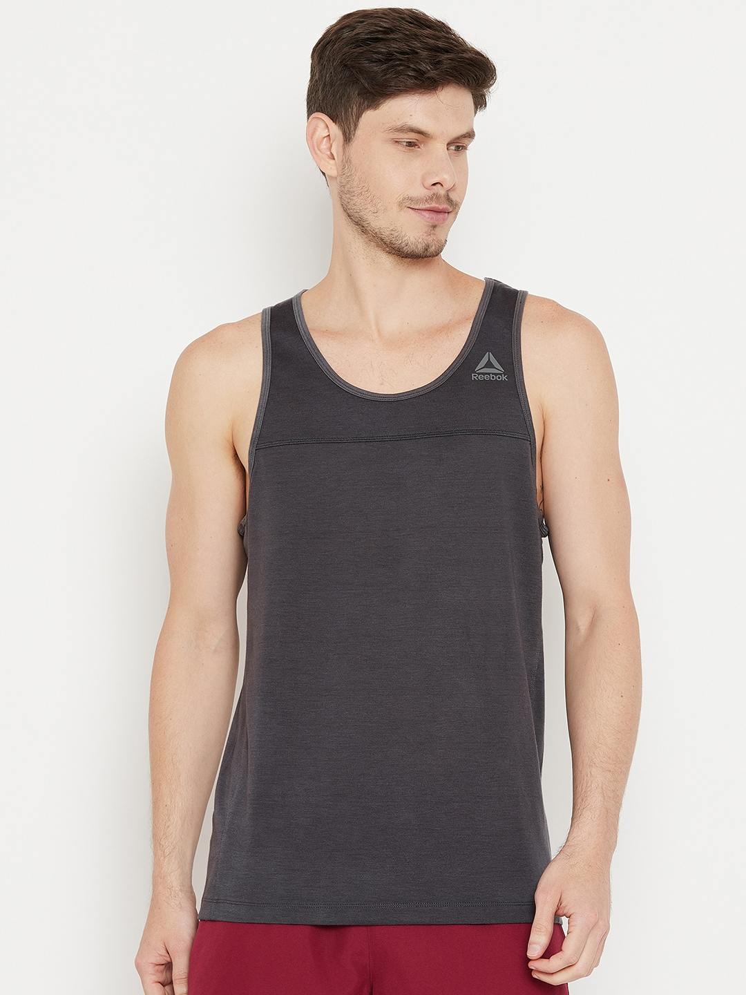 d99d4c15f4cca9 Reebok Neck Topwear - Buy Reebok Neck Topwear online in India