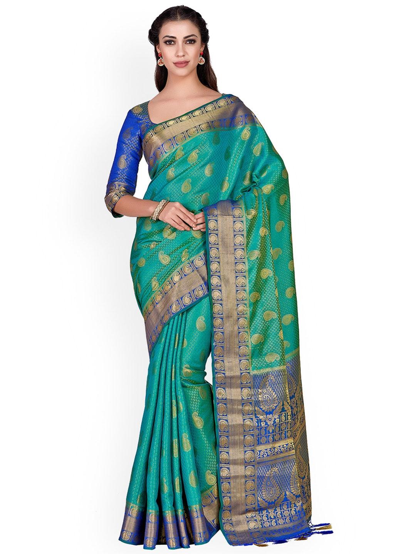 dcaef1ceb3e9aa Kanjeevaram Saree - Shop Kanjeevaram Silk Sarees Online