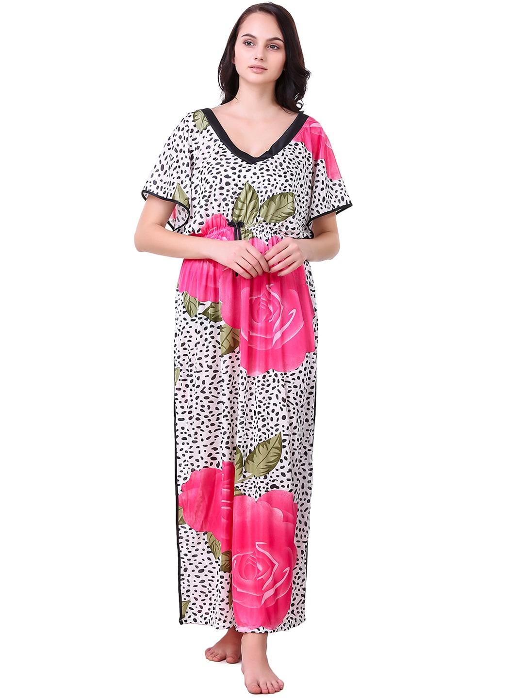 0cb7f386f8 Masha Satin Loungewear And Nightwear - Buy Masha Satin Loungewear And  Nightwear online in India