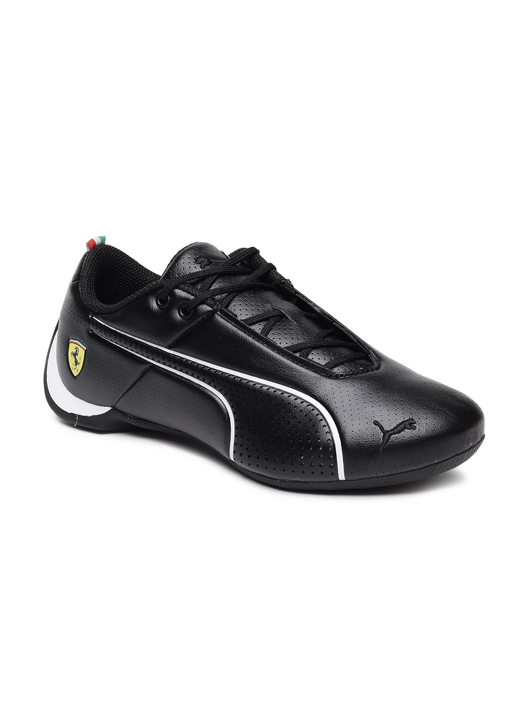 c75c7893649903 Puma Ferrari Black Shoes Casual - Buy Puma Ferrari Black Shoes Casual online  in India