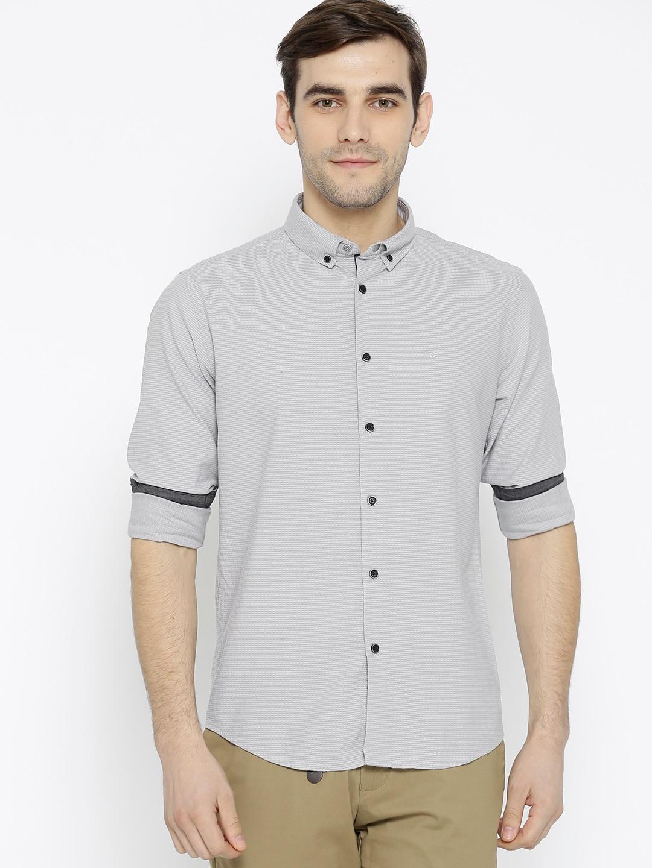 e108c0c355 Flying Machine Casual Shirts - Buy Flying Machine Casual Shirts Online in  India