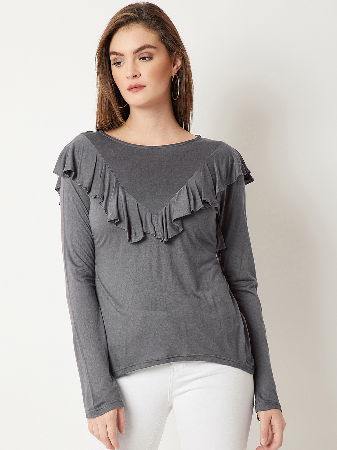 00b5a55e Miss Chase Long Sleeves Tops - Buy Miss Chase Long Sleeves Tops online in  India