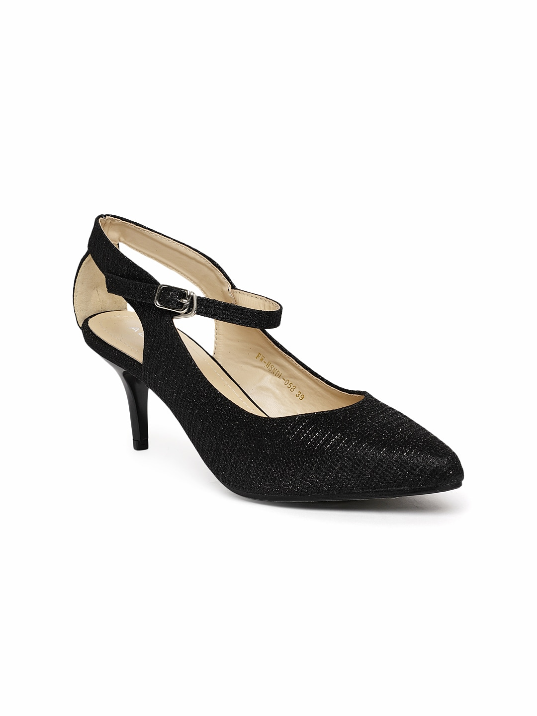 8ebb2a0144d Black Heels - Buy Black Heels Online in India