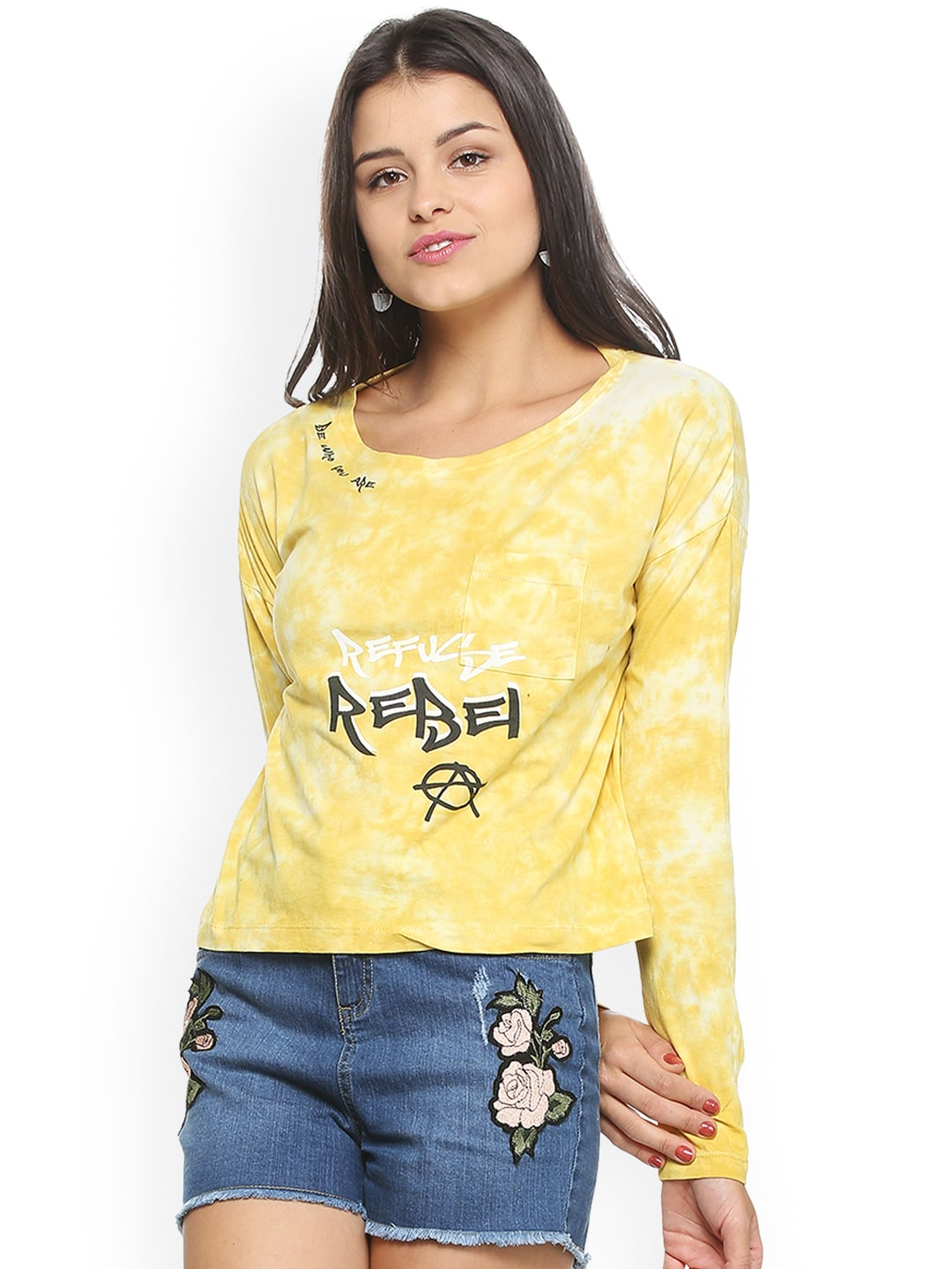 305bf122d74d99 People Tops - Buy People Tops Online in India