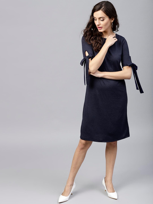 Femella Solid Dresses - Buy Femella Solid Dresses online in India 6894014ef