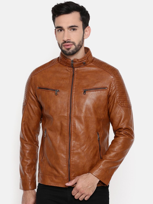 3e1191b4c2f Men Pu Jackets - Buy Men Pu Jackets online in India