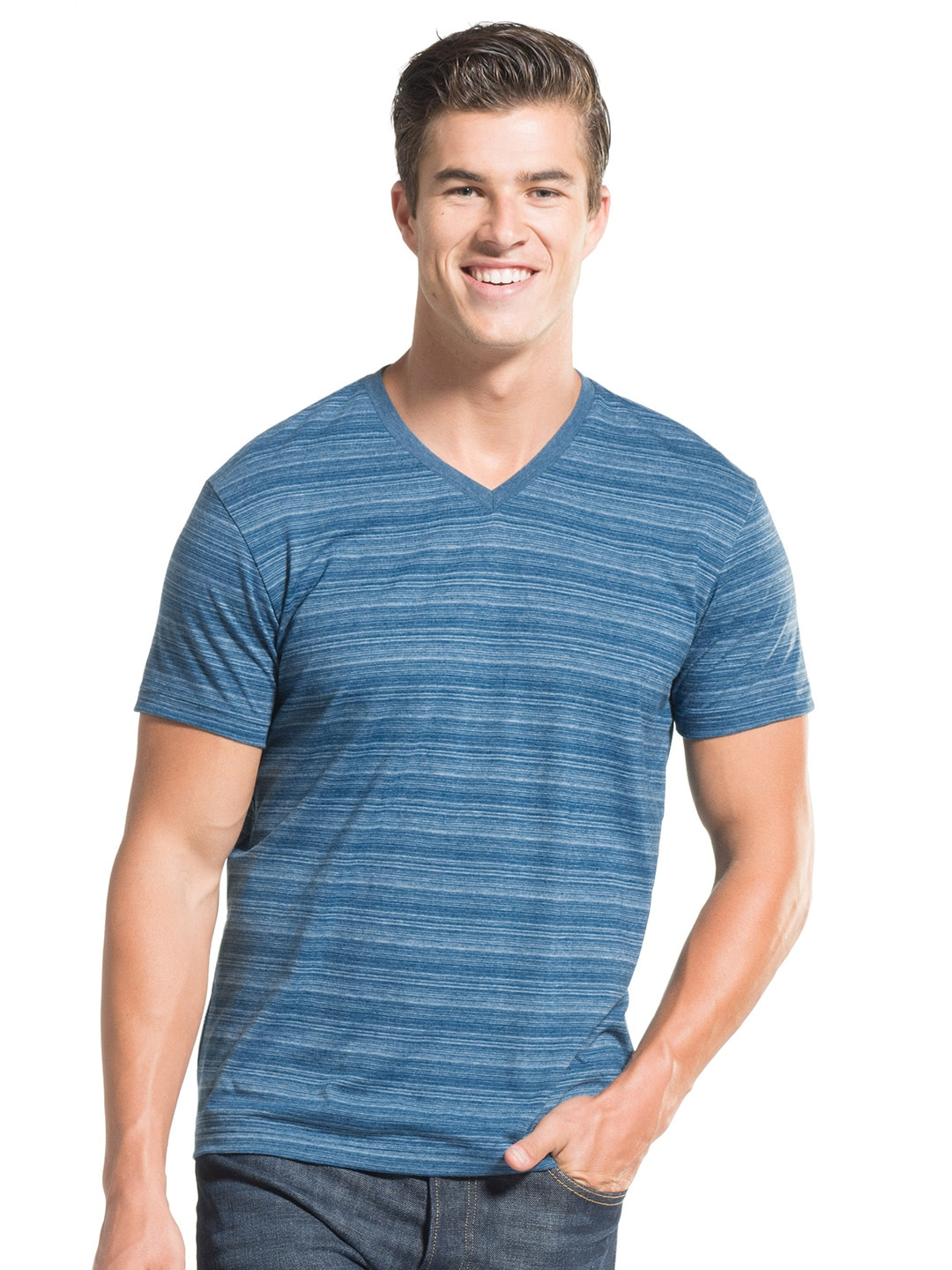 df9e560fc304 Jockey Mens Slim Fit V Neck T Shirt - DREAMWORKS