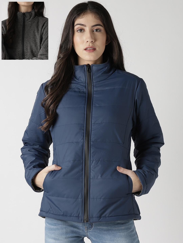 02b50d6ea75b Women Reversible Jacket - Buy Women Reversible Jacket online in India