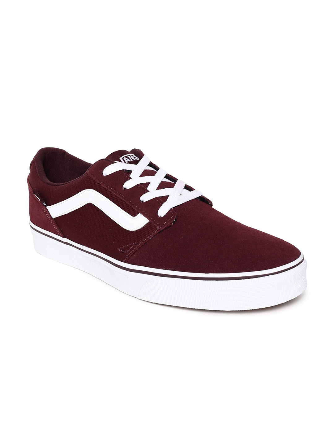 cecf3d4c50 Vans Maroon Shoes - Buy Vans Maroon Shoes online in India