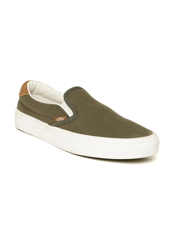 4dfa6f5bb2 Vans Olive Shoes - Buy Vans Olive Shoes online in India