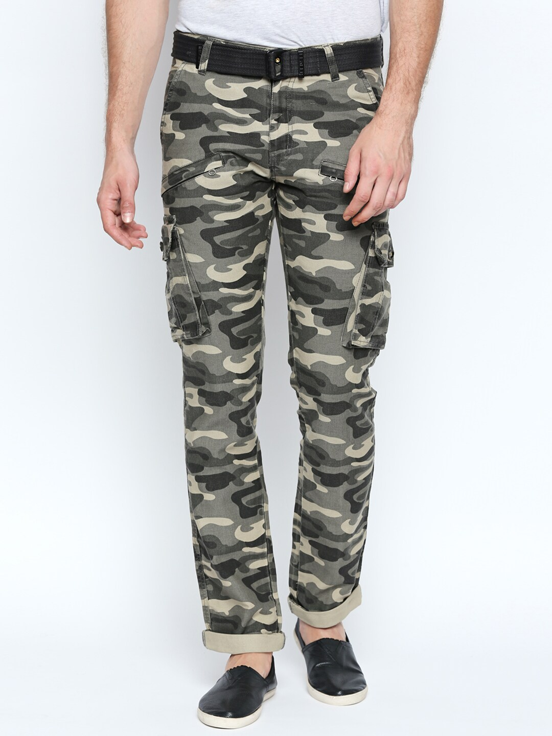 2019 year for girls- Skinny Camouflage jeans for juniors