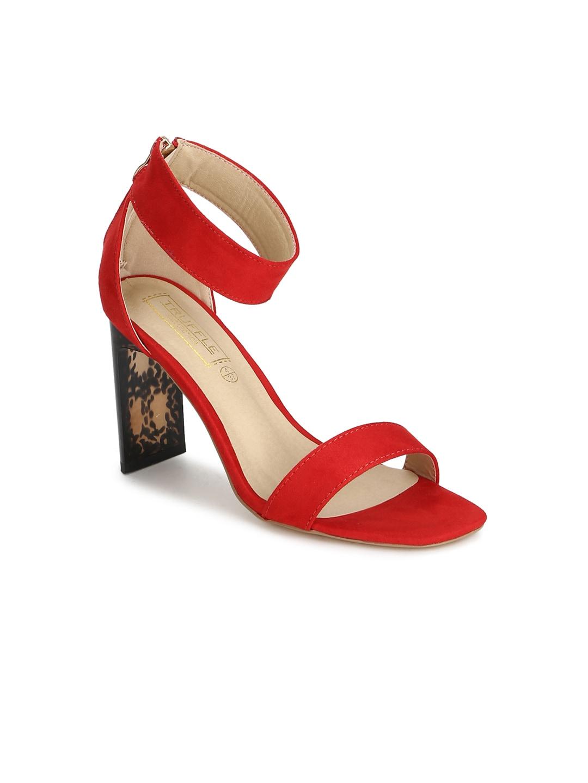 ea7d423c0fa0 Red Heels - Buy Red Heels Online in India