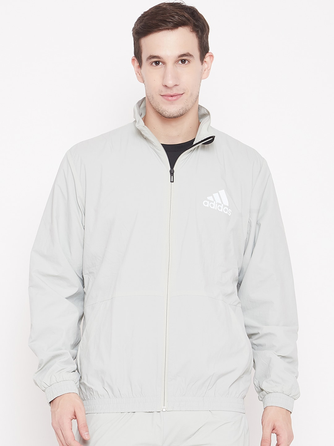 half off b9673 4e16a Adidas White Topwear - Buy Adidas White Topwear online in India