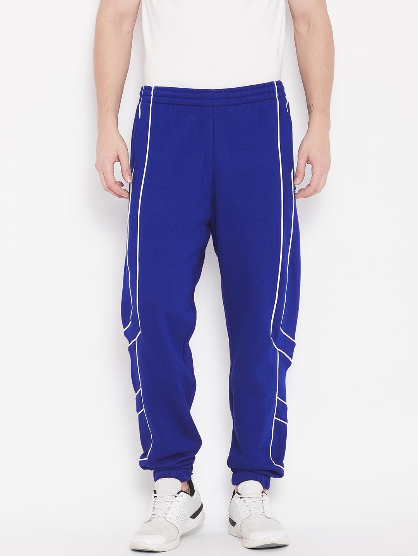 adidas originals blue track pants