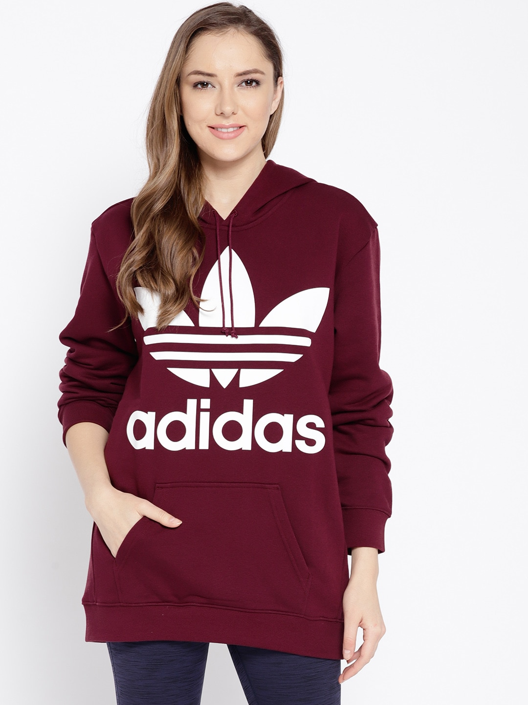 930033fb63ca Adidas Women Sweatshirts - Buy Adidas Women Sweatshirts online in India