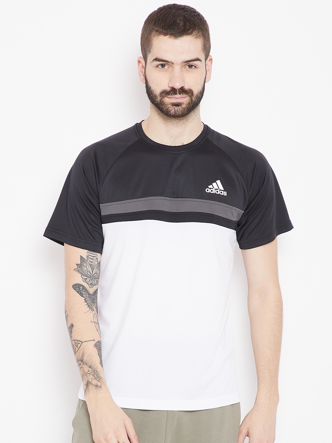 Adidas Neck Tshirts - Buy Adidas Neck Tshirts online in India