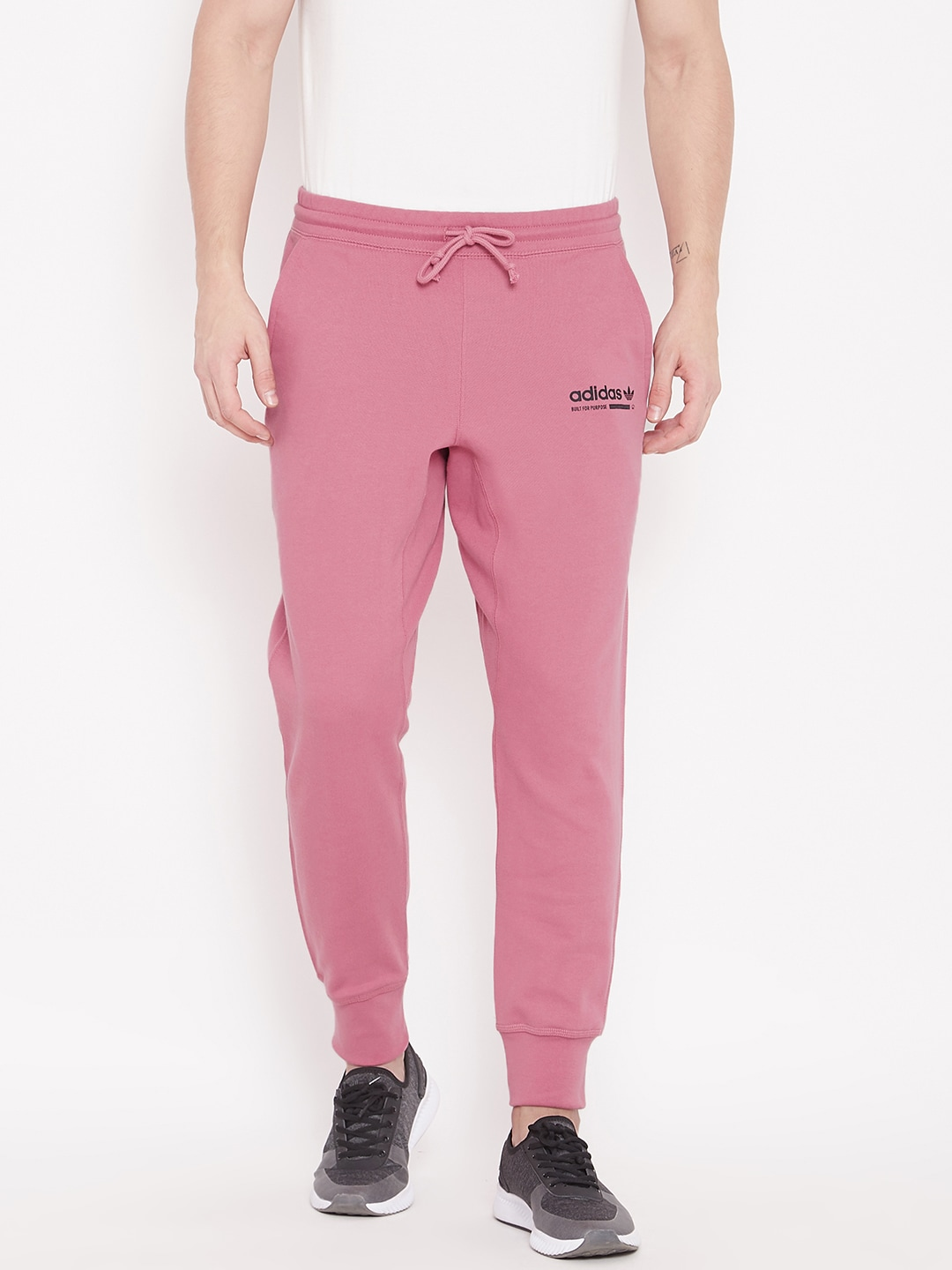 new release exceptional range of colors fashionable and attractive package ADIDAS Originals Men Pink Solid KAVAL Joggers