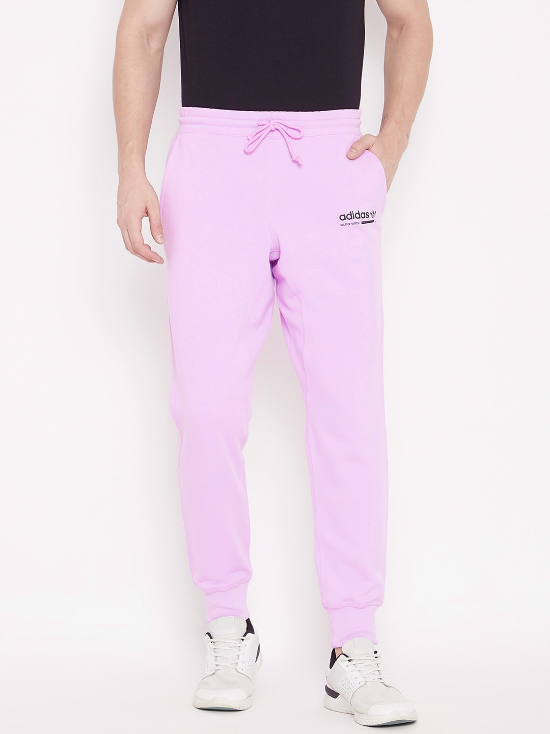 famous brand to buy variety of designs and colors ADIDAS Originals Men Lavender Solid KAVAL Joggers