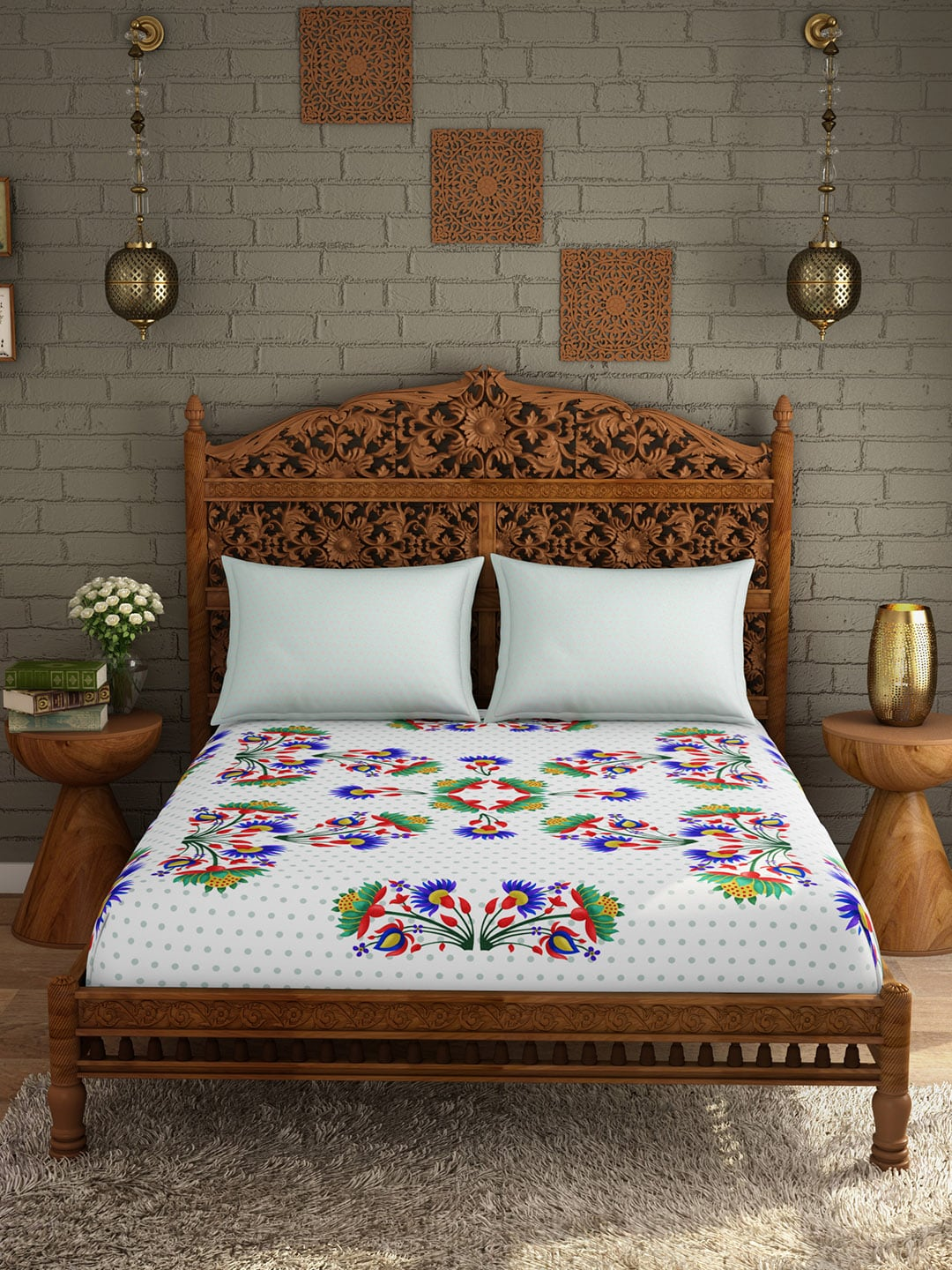 Bedsheets   Buy Double U0026 Single Bedsheets Online In India | Myntra