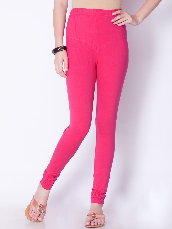 178ffbd2a0266 Pink Salwar Leggings - Buy Pink Salwar Leggings online in India