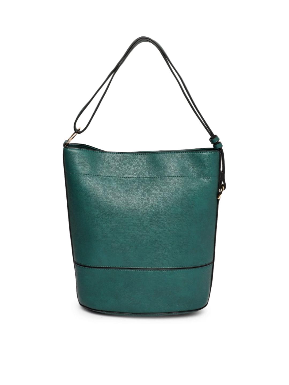 Accessorize Teal Solid Hobo Bag a6da02e5844f2