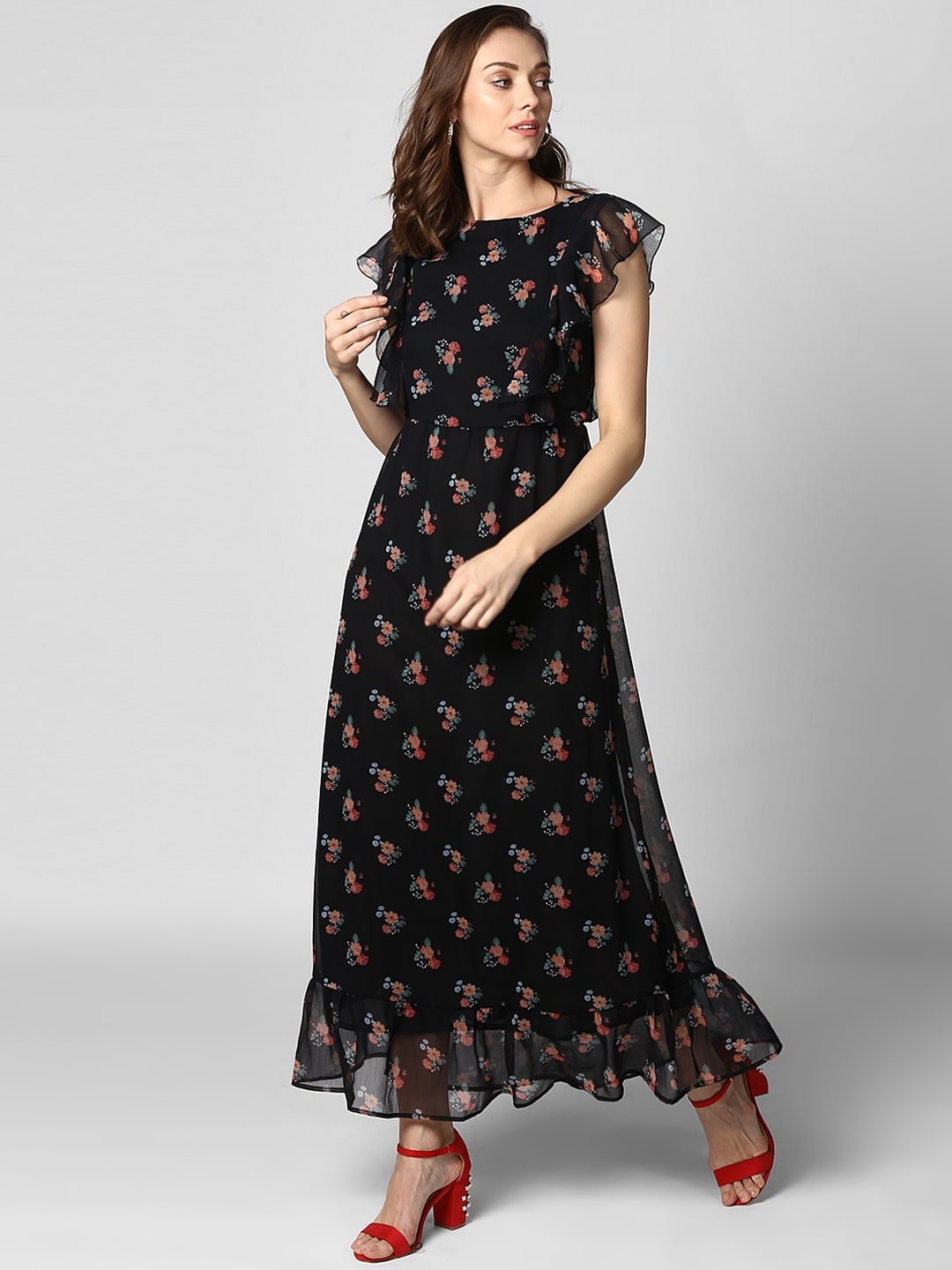 2f137228cf Floral Dresses - Buy Floral Print Dress Online in India