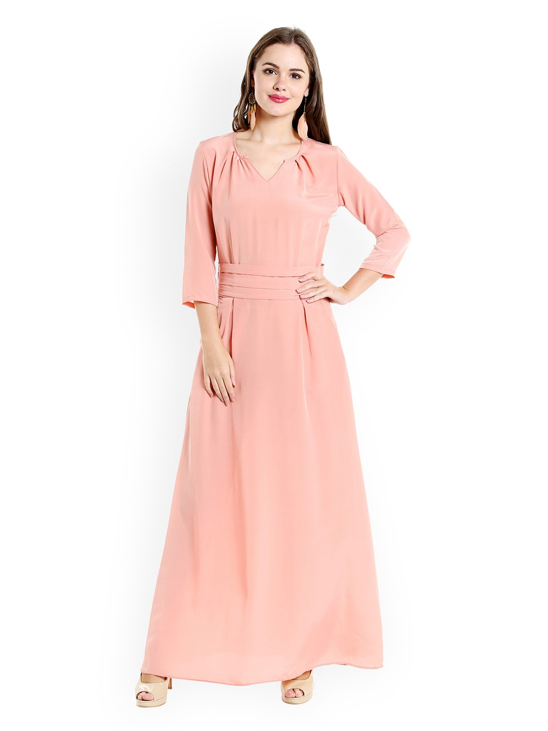 5cba1a56f97 Long Dresses - Buy Maxi Dresses for Women Online in India - Upto 70% OFF