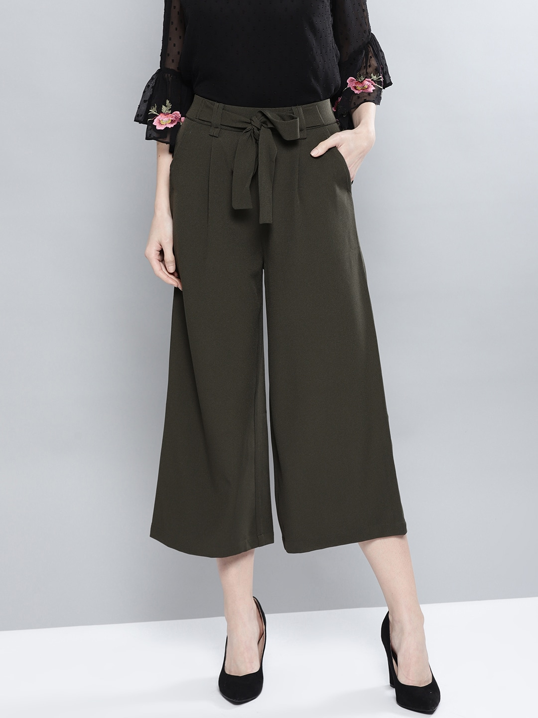3fbbd6bf7c66 Women's Trousers - Shop Online for Ladies Pants   Trousers in India