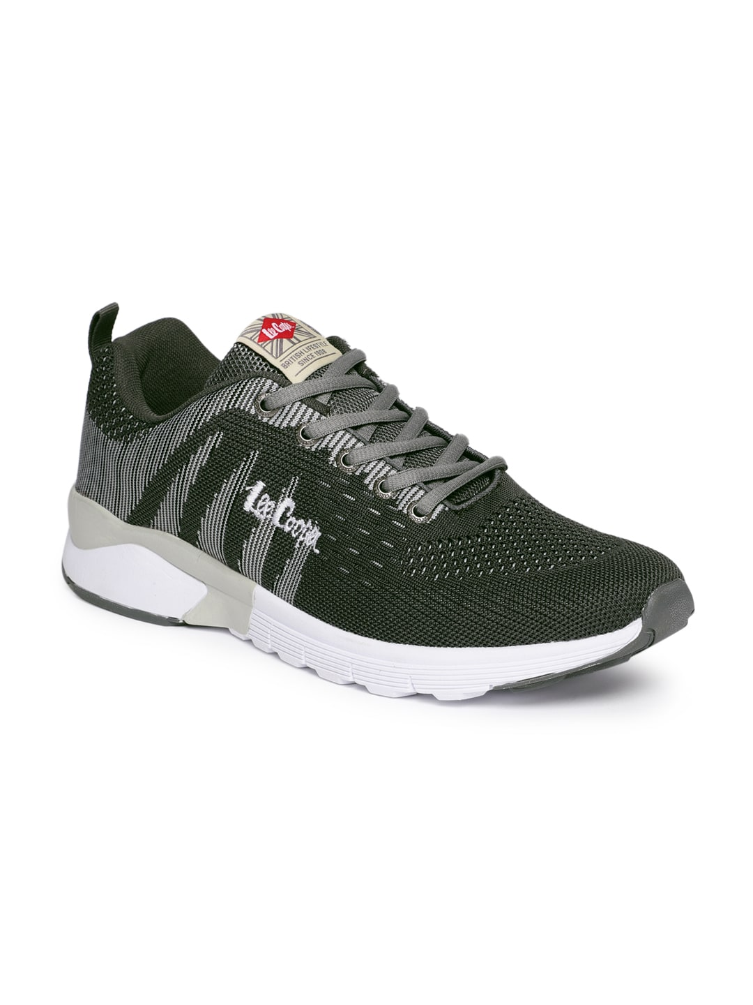 749c407e08a9 Lee Cooper Men Grey Running Shoes