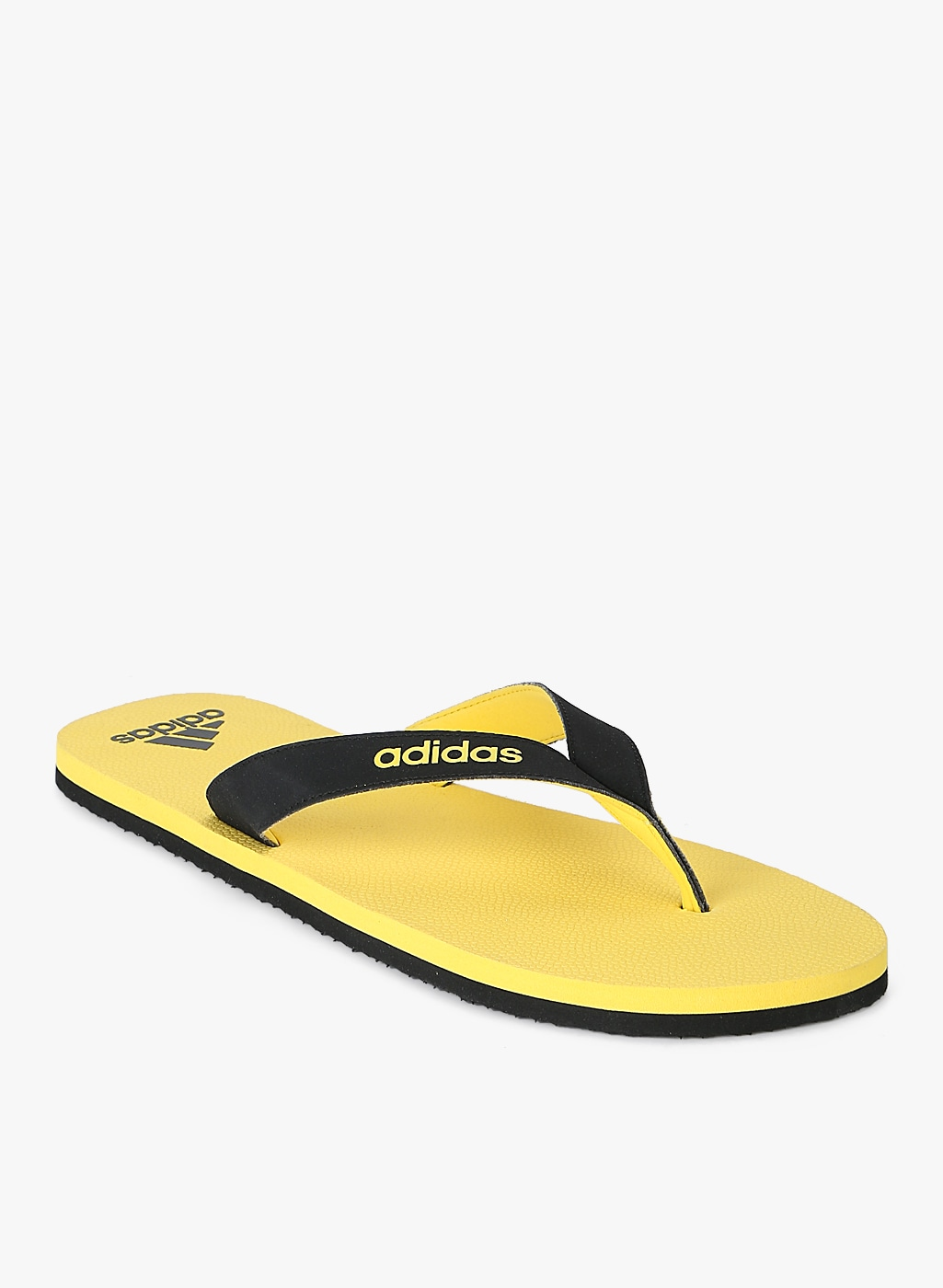 52df0bac316bf3 Yellow Footwear Adidas Flip Flops - Buy Yellow Footwear Adidas Flip Flops  online in India