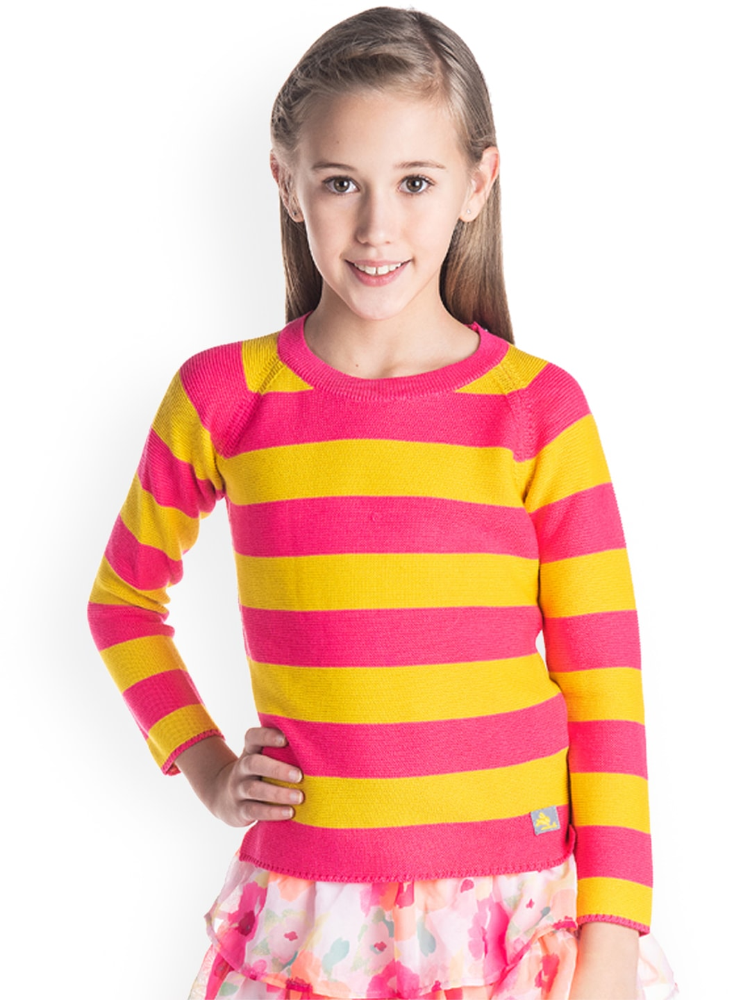 bd52b8eaf18 Girl s Sweaters - Buy Sweaters for Girls Online in India