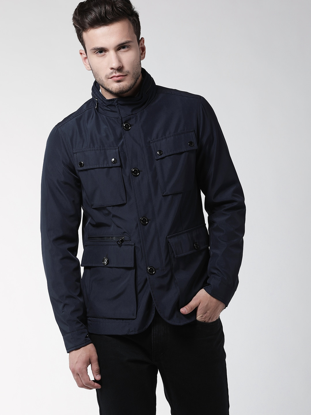 3770813aa3a6 Tommy Hilfiger Polo Jackets - Buy Tommy Hilfiger Polo Jackets online in  India