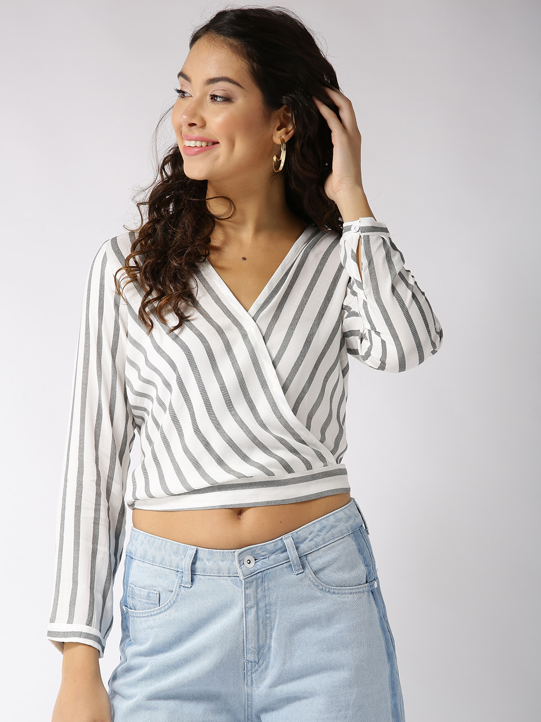 f2a30debde Long Sleeve Tops - Buy Long Sleeve Tops online in India