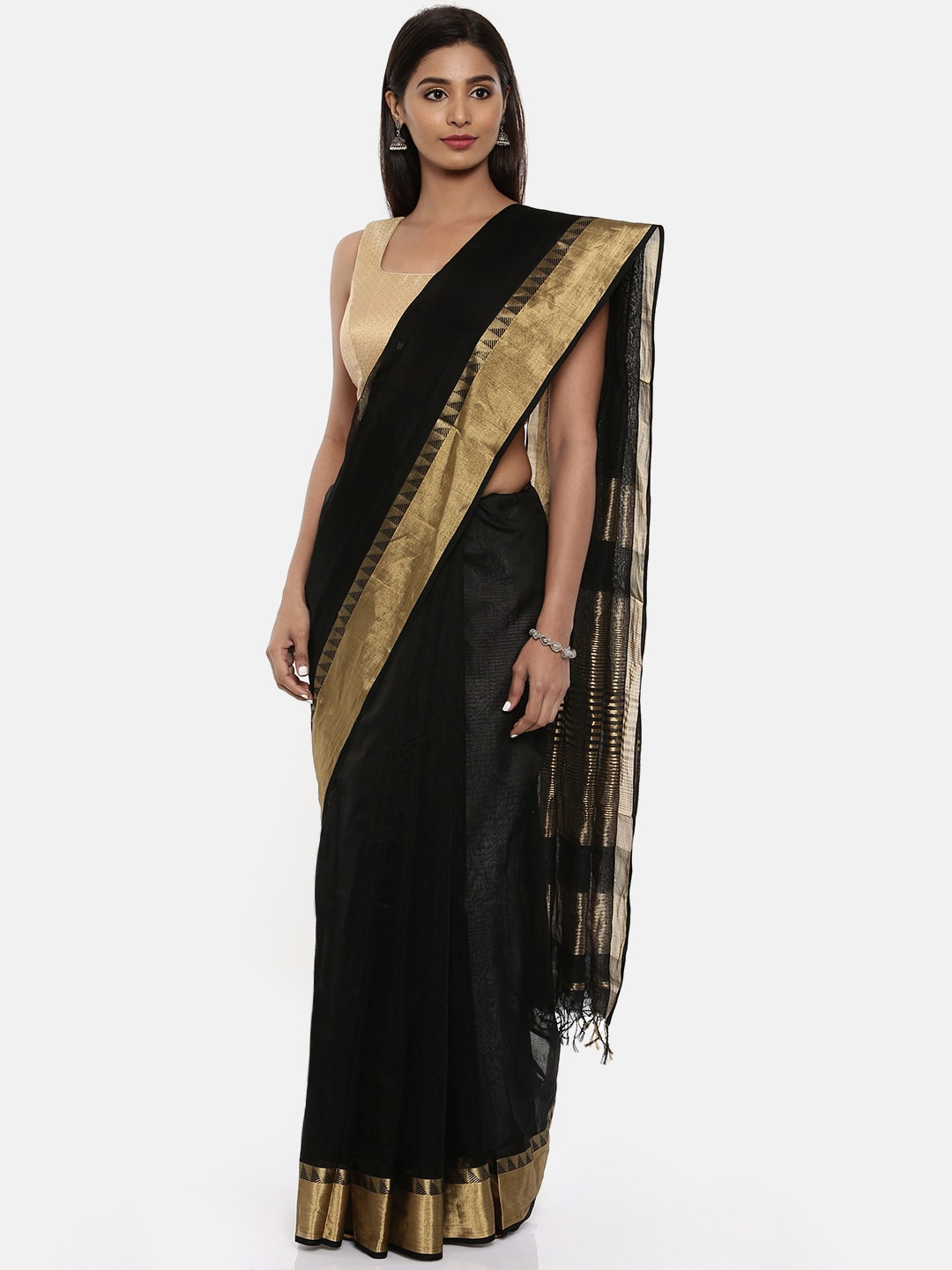 9f52c1014f Black Saree - Black Designer Sarees Online   Best Price