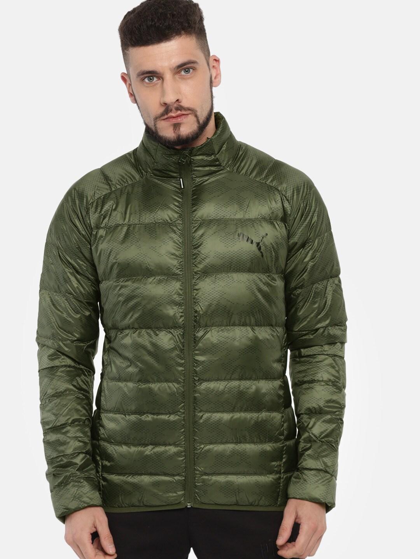 8d6d377af60f Puma Olive Green Jackets - Buy Puma Olive Green Jackets online in India
