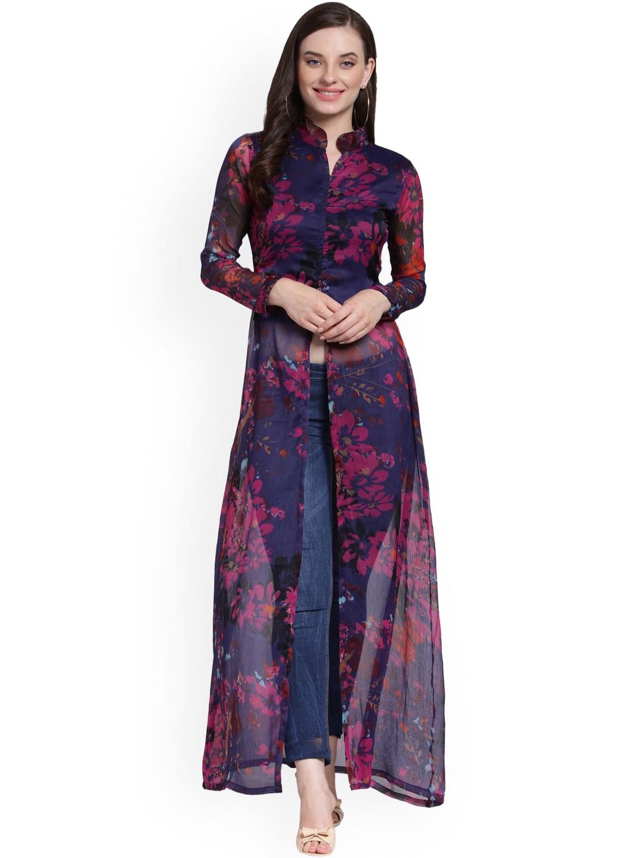 82ad6d6568bf Women Tshirt Long Tops - Buy Women Tshirt Long Tops online in India