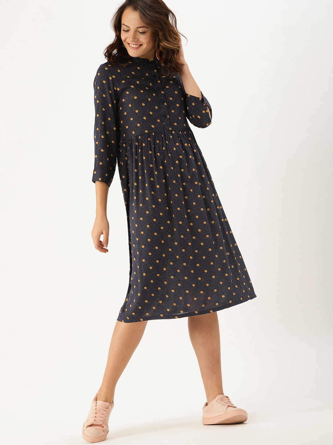 3244ca41f35 Polka Dots Dresses - Buy Polka Dots Dresses online in India - Myntra