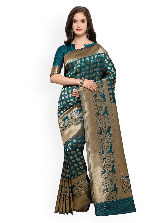 4c01d7eb5351d6 Banarsi Saree - Authentic Banarsi Sarees Online - Myntra