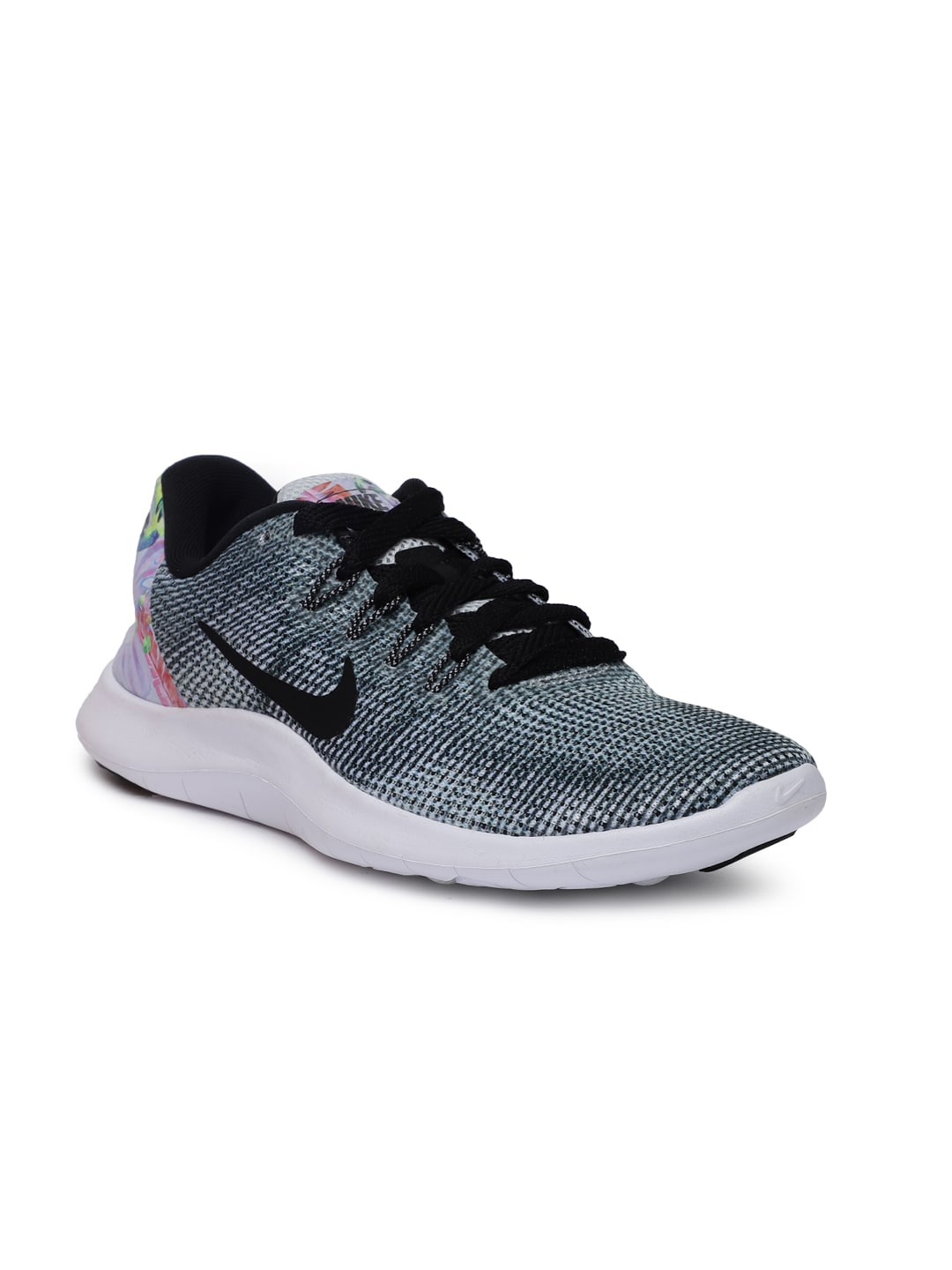 893d80fffe1 Nike Women Black FLEX 2018 RN PRM Running Shoes
