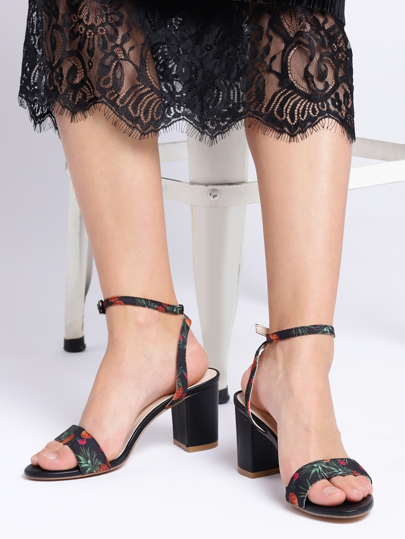 cd643e48b7f Black Heels - Buy Black Heels Online in India