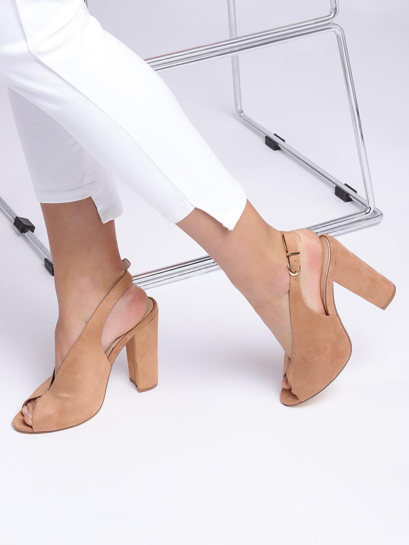 4b1487ea097 Peep Toe Heels - Buy Peep Toe Heels Online in India